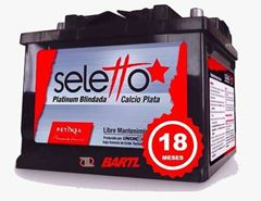 Imagen de Bateria Seletto 65 Amp Garantía Petinsa Formato Japones