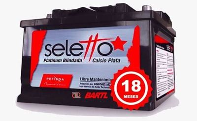 Imagen de Bateria Seletto 150 Amp Garantía Petinsa Izquierda