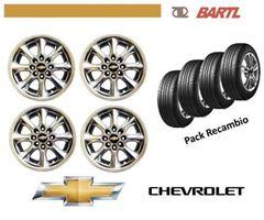 Imagen de Llantas 14 Pack Recambio Con Cubiertas Chevrolet B14k009c