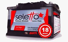 Imagen de Bateria Seletto 100 Amp Garantía Petinsa Lo Mejor!!! XY