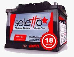 Imagen de Bateria Seletto 65 Amp Garantía 18 Meses Libre Mant.