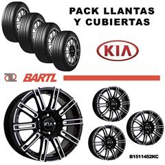 Imagen de Pack Recambio Llantas 15 Para Kia Kit B151452KC