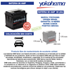 Imagen de Bateria Yokohama 90 Amp Garantía 18 meses Libre Mantenimiento