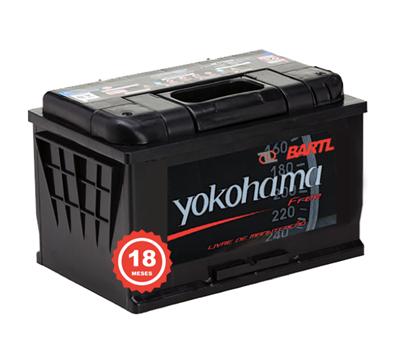 Imagen de Bateria Yokohama 110 Amp Garantía 18 meses Libre Mantenimiento
