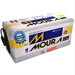 Imagen de Bateria Moura 320 Amp M220P Garantía 15 Meses Derecho/Izquierdo Positivo