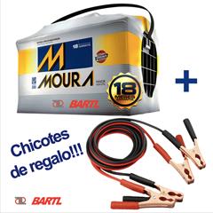 Imagen de Bateria Moura 140 Amp Garantía 15 Meses Chicotes de Regalo