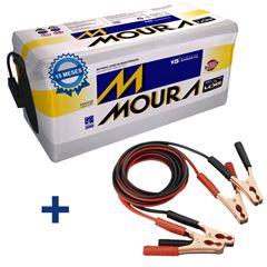 Imagen de Bateria Moura 260 Amp M180B Garantía 15 Meses Chicotes de Regalo