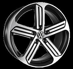 Imagen de Llanta Aleación 17 Para Volkswagen 5x112 B17R5201C