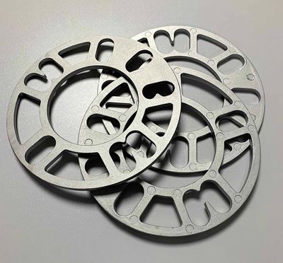 Imagen de Platinas Separadoras De Aluminio Para Llantas 10 Mm