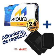 Imagen de Bateria Moura 80 Amp  Garantía 24 M 50Ah Alfombras de Regalo