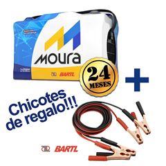 Imagen de Bateria Moura 130 Amp  Garantía 24 M 75Ah Chicotes de Regalo